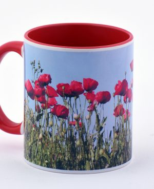 Kούπα με λουλούδια